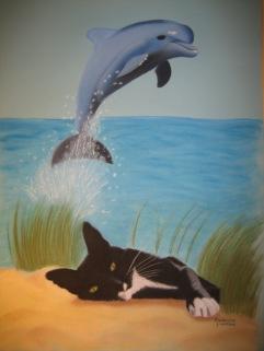 Ninja & dolphin / April 2010