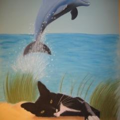 Ninja & dolphin | April 2010